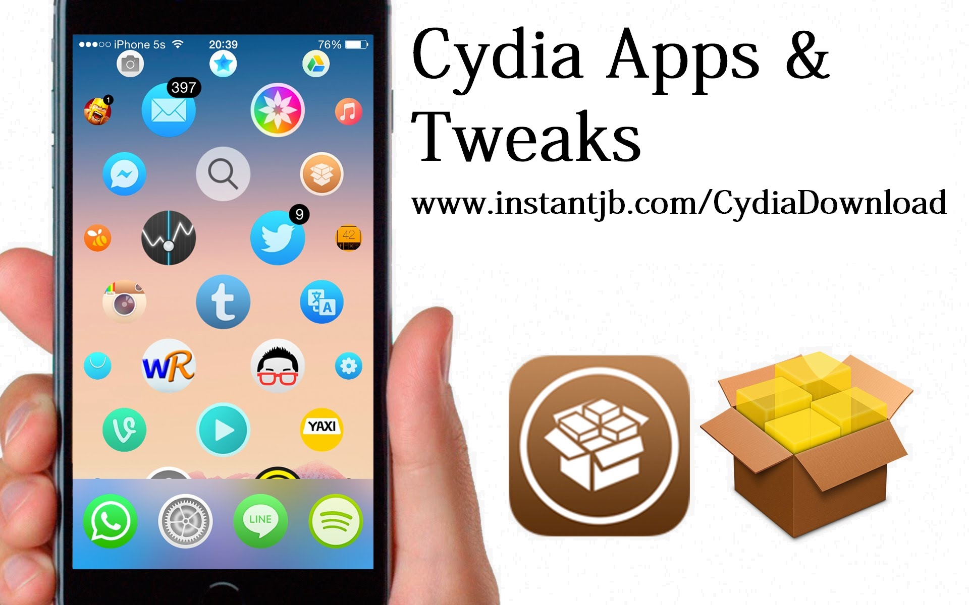 How to install cracked apps with Cydia – Best Cydia Apps