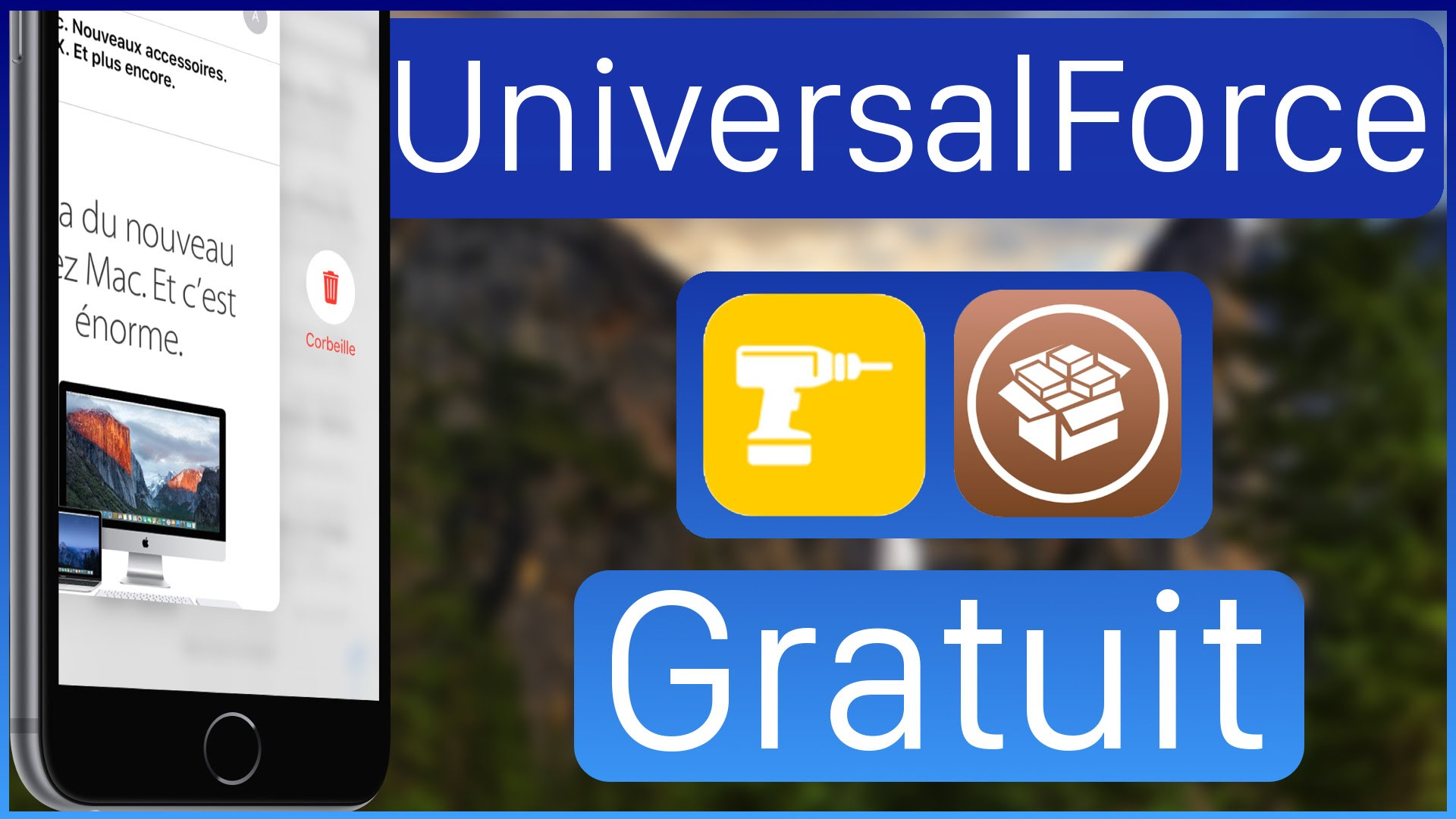 UniversalForce Cydia Tweak