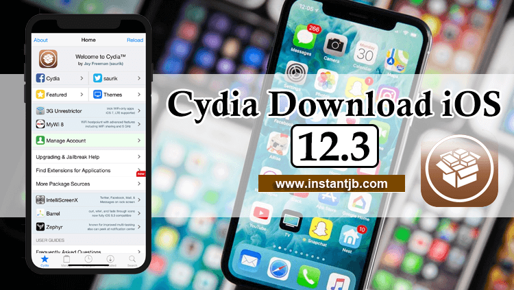 Cydia Download iOS 12 3 🥇 With iNstant Jailbreak