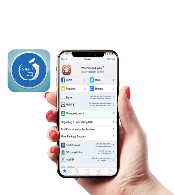 iNstant Jailbreak 🥇 Cydia Download iOS 12 4, 11 and 9 Versions